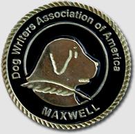 Maxwell Award - Dog Writers Association of America